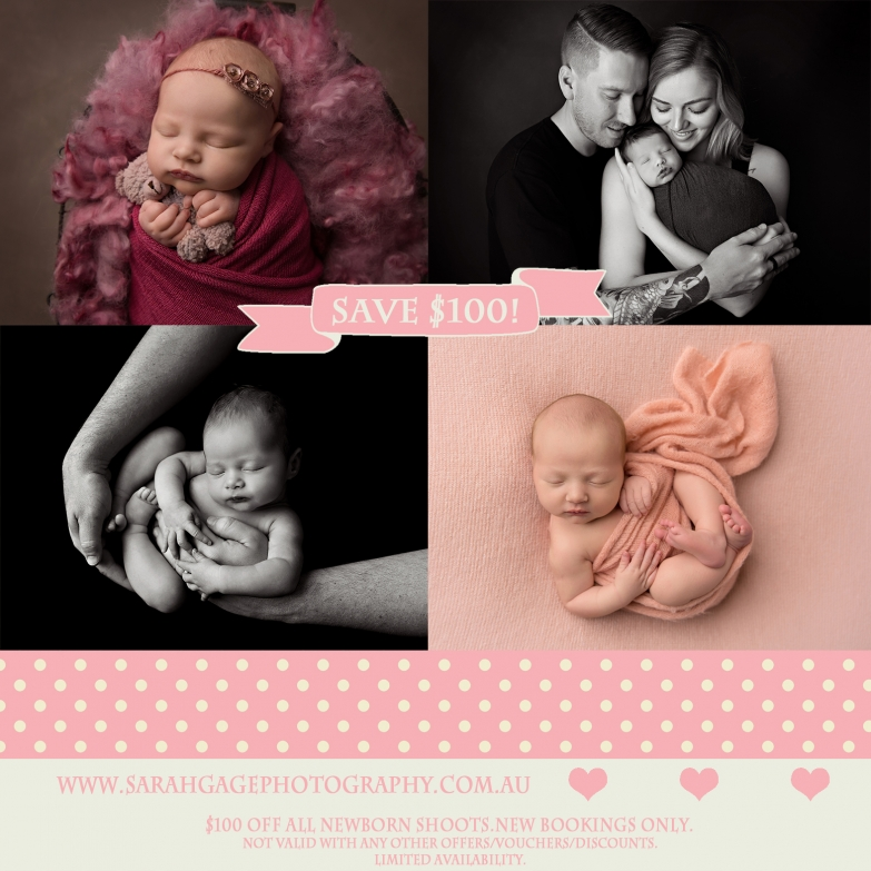 Sarah Gage Photography Toowoomba Newborn Photography 2019 discount