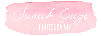 Sarah Gage Photography Toowoomba Darling Downs Newborn Photographer logo